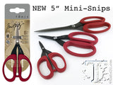"Tonic Studios - Tim Holtz - 5"" Mini Snips Micro Serrated Scissors"