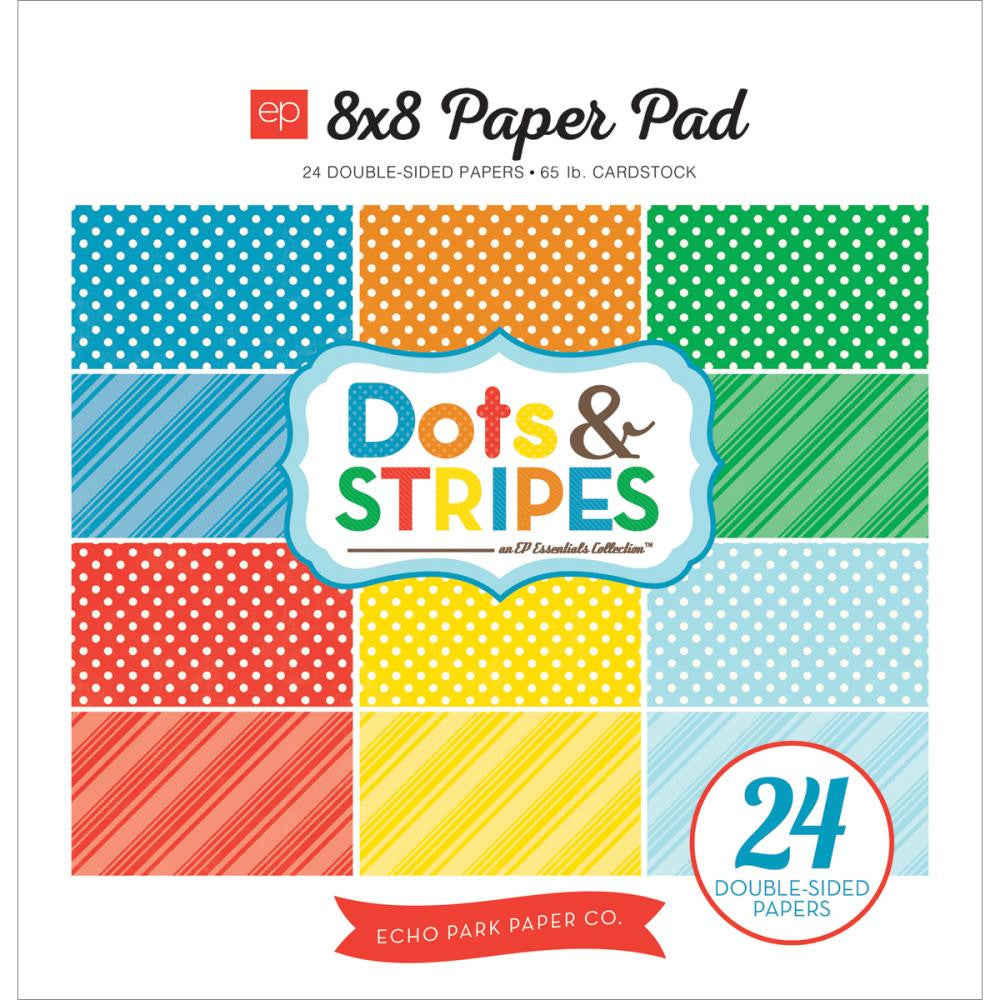 Echo Park 8x8 Dots & Stripes Summer