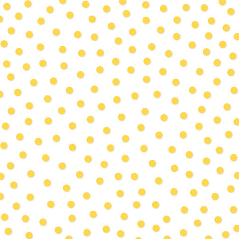 Bella Blvd - Clear Cuts 12x12 BELL PEPPER (yellow) Confetti Transparency, Acetate, Overlay Sheets