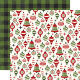 Echo Park - A Perfect Christmas 12x12 Scrapbook Collection Kit