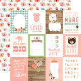 Echo Park - Baby Girl 12x12 Scrapbook Collection Kit
