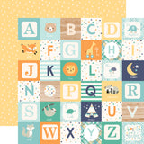 Echo Park - Hello Baby (Boy) 12x12 Scrapbook Collection Kit