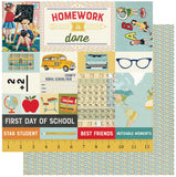 Authentique Paper - Scholastic Collection - 12 x 12 Paper Pad