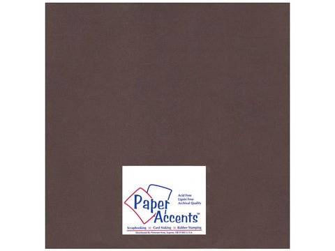 Paper Accents - Bon Bon Smooth 12x12 Cardstock 2 sheets #93