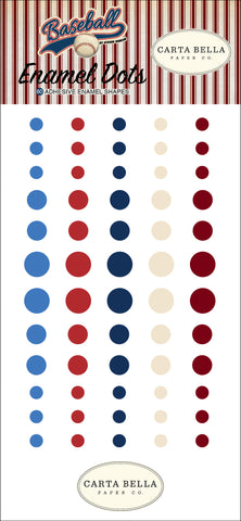 Carta Bella - Baseball Enamel Dots