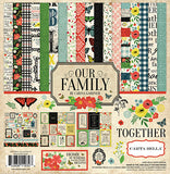 Carta Bella - Our Family 12x12 Scrapbook Collection Kit