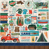 Carta Bella - Summer Camp 12x12 Collection Kit (Camping, Outdoors, Vacation)