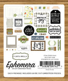 Carta Bella - Welcome Home Ephemera Die Cuts, 33 Pieces (Family)