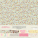 Authentique - Confection 12x12 Collection Kit (Dessert, Ice Cream, Chocolate)