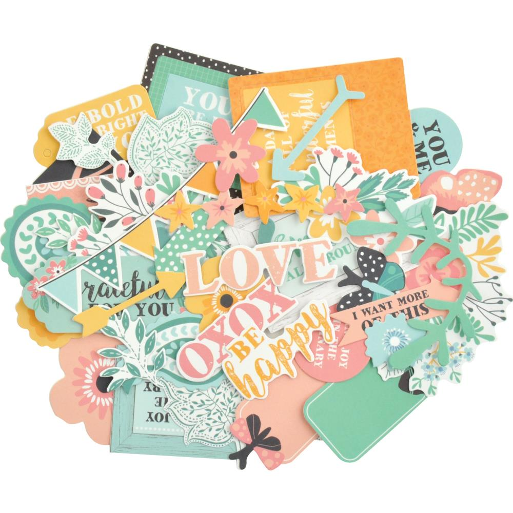 Kaisercraft - Paisley Days Collectables Cardstock Die-Cuts