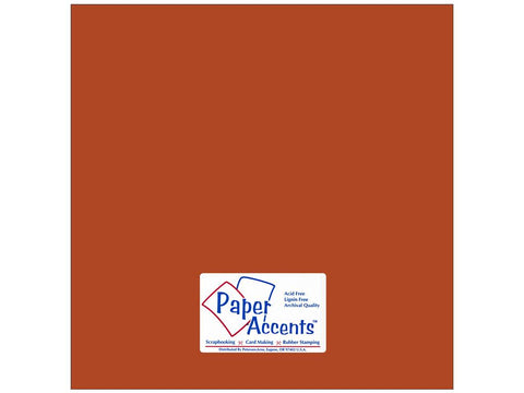 Paper Accents - Cumin Smooth 12x12 Cardstock 2 sheets #81