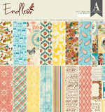 Authentique - Endless 12x12 Paper Pad (Family, Vacation, Summer)