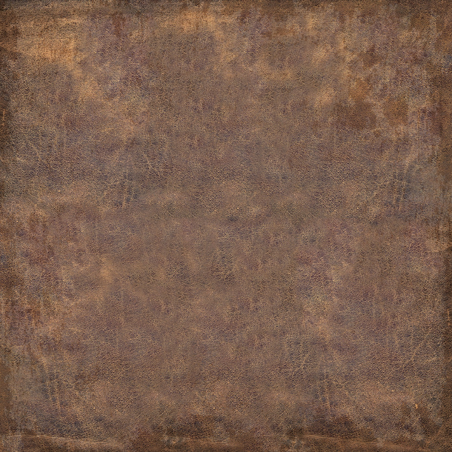 Authentique - Frontier 12x12 Worn Leather Paper *It's Back*!