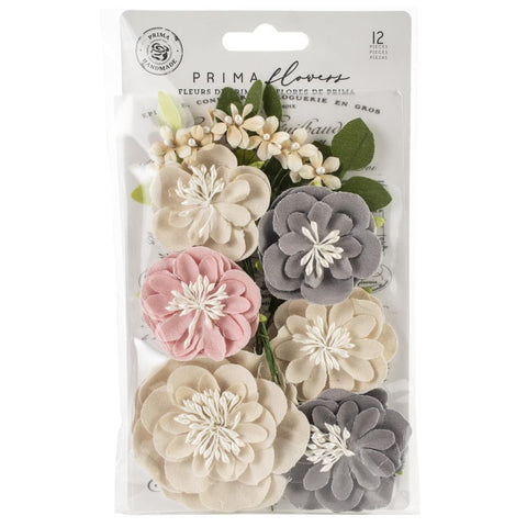 Prima Marketing - Spring Farmhouse Fabric Flowers