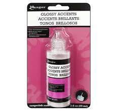 Ranger Glossy Accents - Glue - Adhesive