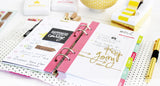 Heidi Swapp - Make It Happen - Personal Memory Planner and Accessories