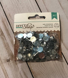 American Crafts DIY Shop Clear Bulk Rhinestones (.5 oz.)