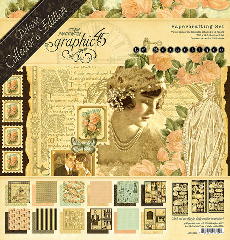 Graphic 45 - Le' Romantique 12x12 Deluxe Collector's Edition