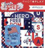 Photo Play Live Free 29 Ephemera Die Cuts