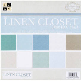 DCWV - The Linen Closet 12x12 Premium Stacks Paper Pad