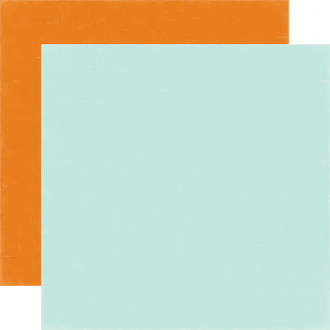 Echo Park - 12x12 Light Blue/Orange 2 Sheets #MW96017