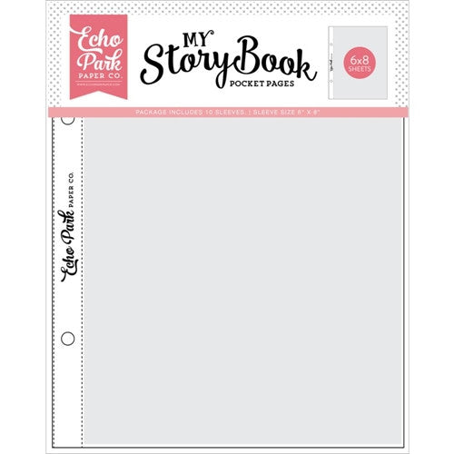 My Story Book 6x8 Pocket Pages, 10 pkg. (6x8 single pocket)