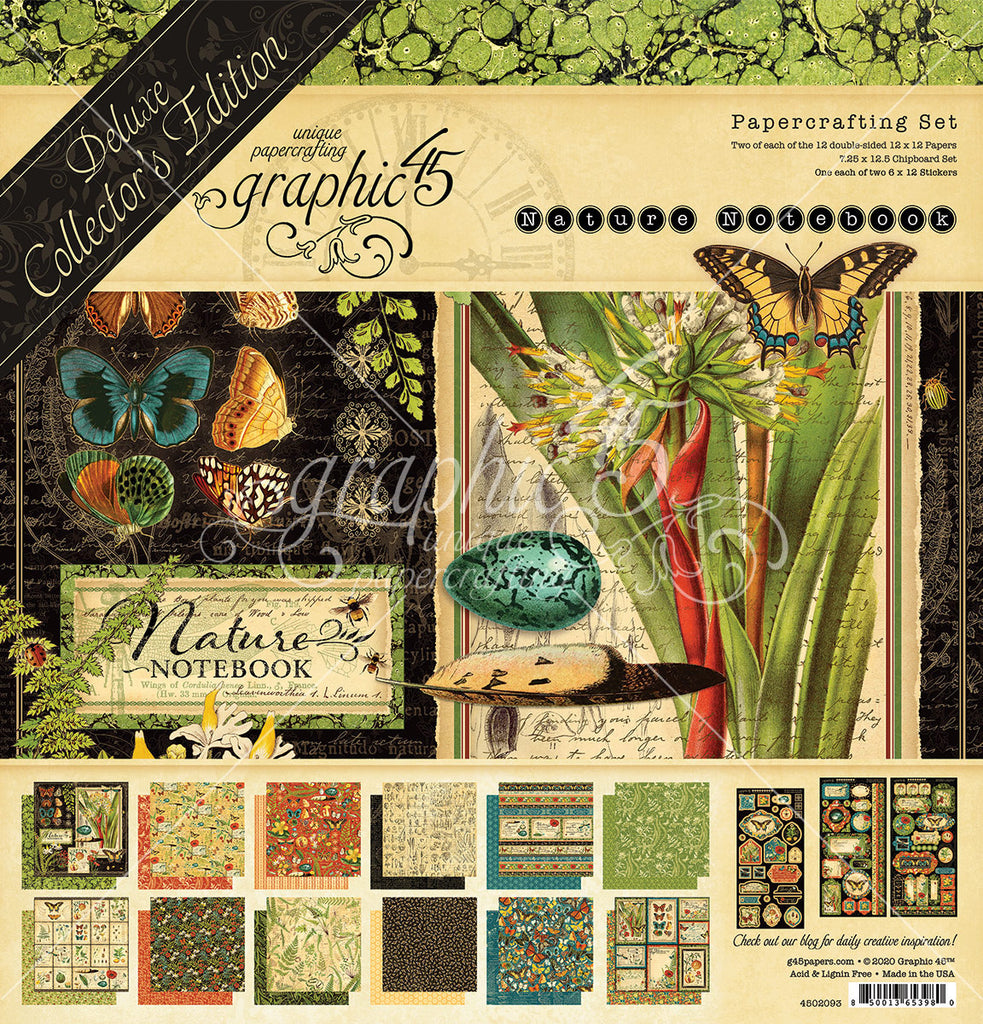 Graphic 45 - Nature Notebook Deluxe Collector's Edition