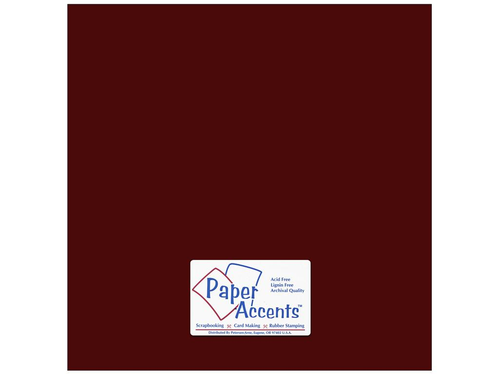 Paper Accents - Pomegranate Smooth 12x12 Cardstock 2 sheets #69