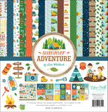 Echo Park - Summer Adventure 12x12 Collection Kit (Camping, Fishing, Hiking)