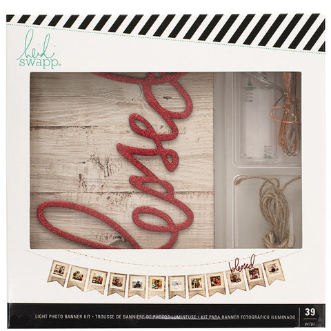 Heidi Swapp - Blessed Lighted Photo Banner Kit (Home Decor)