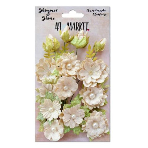 49 and Market Shimmer and Shine Handmade Flowers