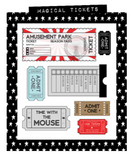 Paper Phenomenon - Remember the Magic12x12 Scrapbook Collection Kit (Disney, Amusement Park)