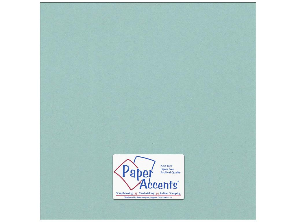 Paper Accents - 2 sheets Smooth Seafood 12x12 Cardstock, #18089
