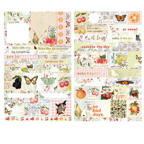 Prima Marketing - Fruit Paradise Stickers (Vintage, Fruit, Floral)