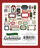 Echo Park - Twas the Night Before Christmas, Vol. 1 Ephemera Die Cuts, 33 pieces