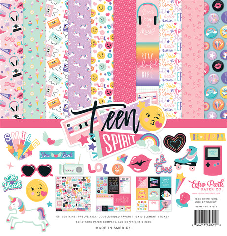 Echo Park - Teen Spirit (Girl) 12x12 Collection Kit