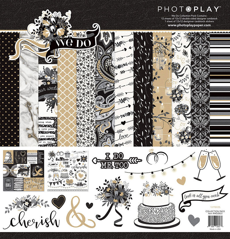 Photo Play - We Do 12x12 Collection Pack (Wedding)