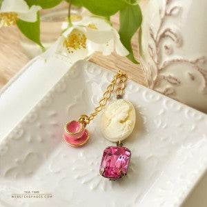 Webster's Pages - Tea Time Charm Color Crush Collection #CH158