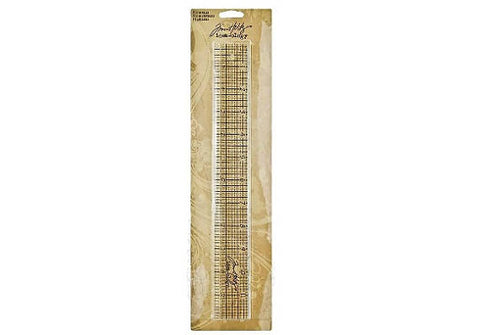 "Tim Holtz idea-ology - 12"" Design Ruler"