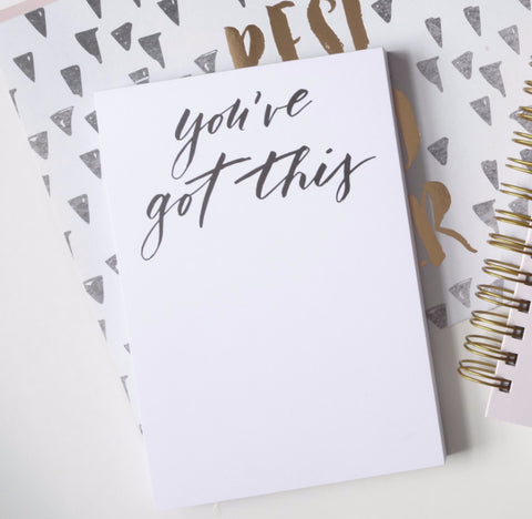 Encouragement Notepad