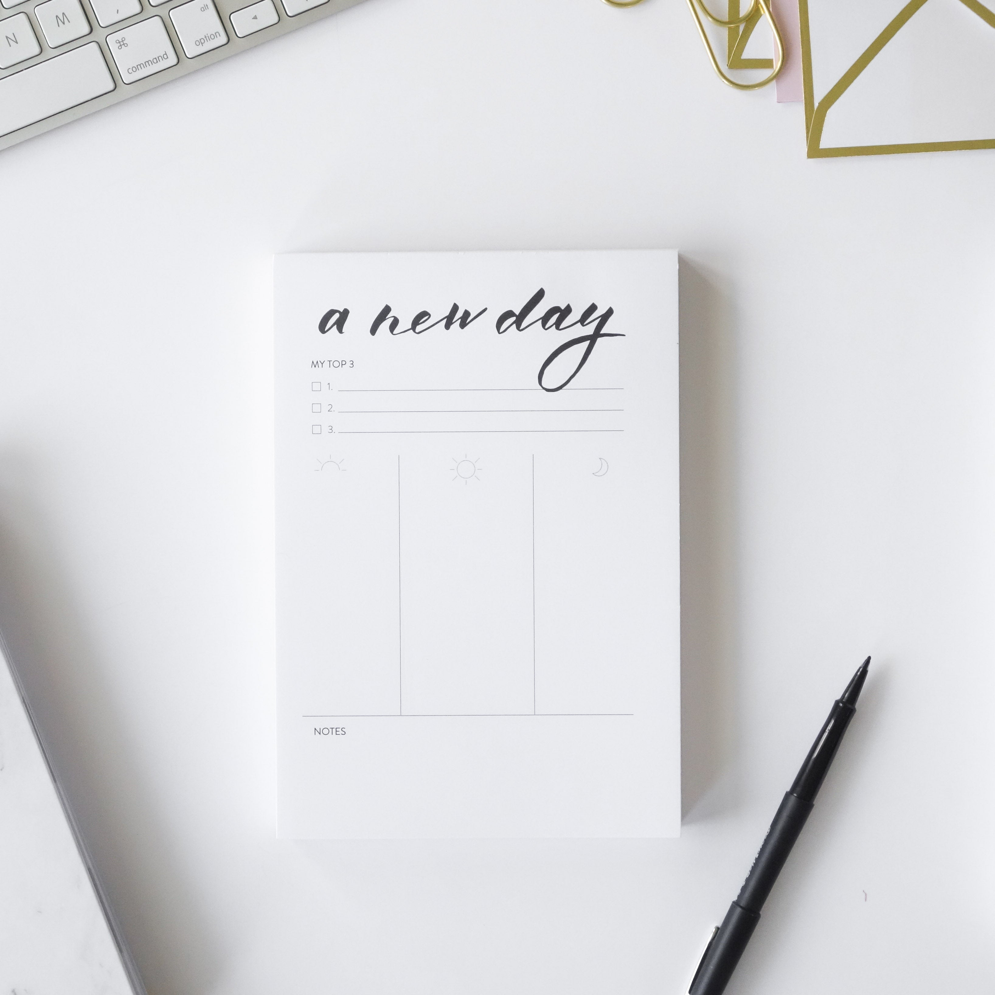photo relating to Daily Planner called Day-to-day Designer Notepad - Horacio Printing
