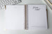 2021 White Marble Dream Planner