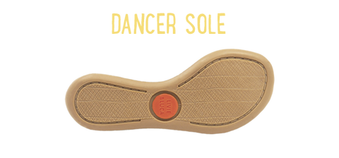 dancer sole size chart