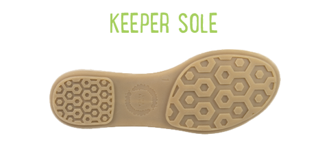 keeper sole size chart