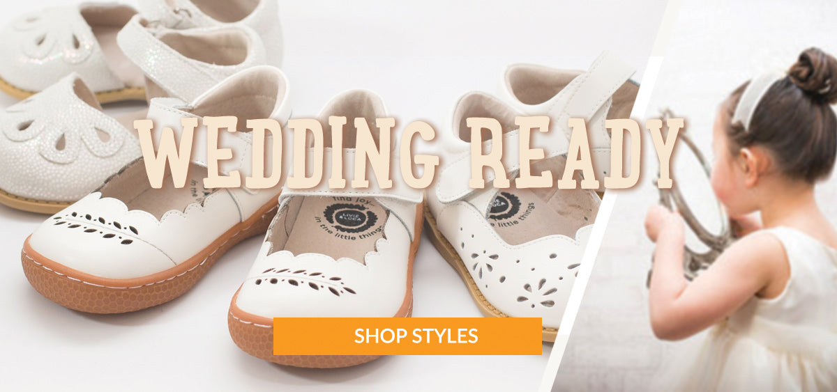 Wedding Ready Shoes for Little Kids