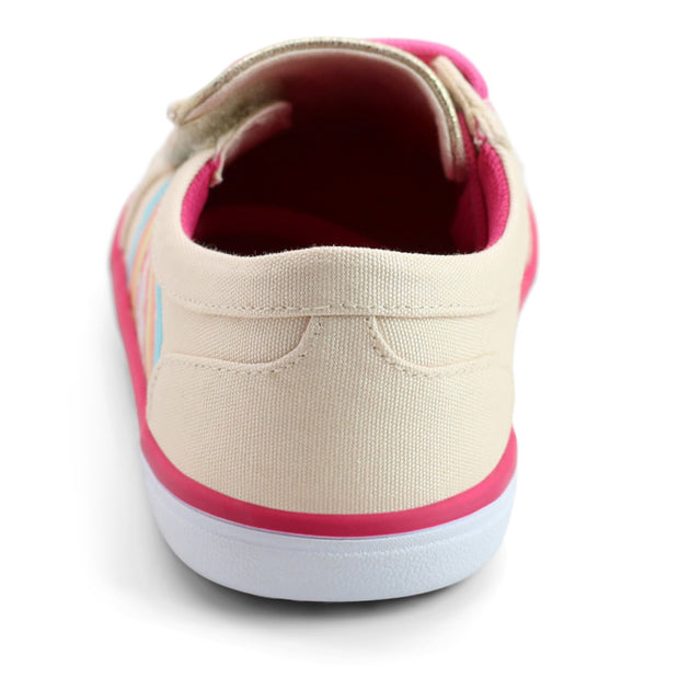 REEVE Sneaker | Light Blush Rainbow