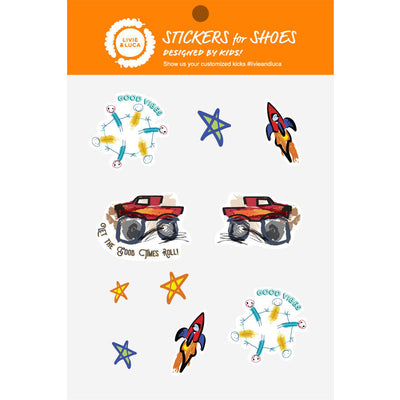 SHOE STICKERS | Adventure Kid Art