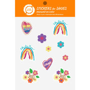 SHOE STICKERS | Rainbow Kid Art