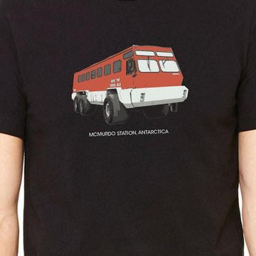 Male terra bus T-shirt