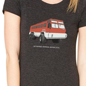 Female terra bus T-shirt